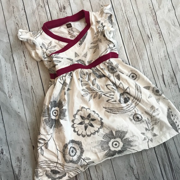 Tea Collection Other - Tea collection toddler girls dress black & white